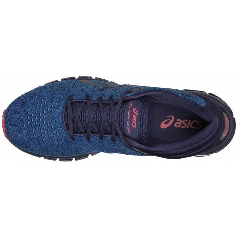 asics quantum 360 knit bleu