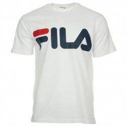 fila classic logo tee - blanc, textile, textile