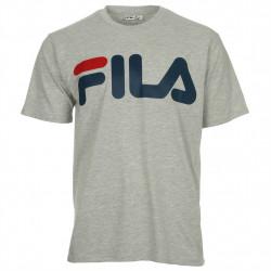fila classic logo tee - gris, textile, textile