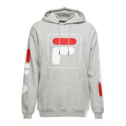 fila total hood 2.0 - gris, textile, textile