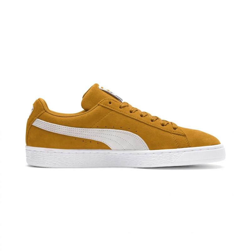 Suede Jaune Chaussures Neuf Adultes Puma Classic 4REwqd