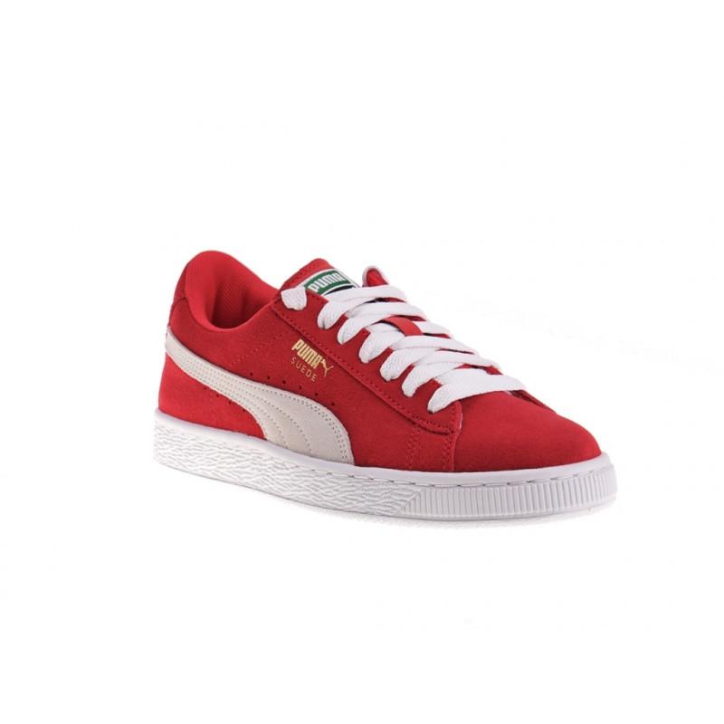 Cuir suede Cuir 37 Junior Rouge Classic textile Puma Suede 03 355110 w06UYx8a
