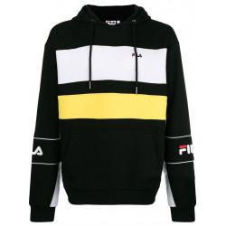 fila tan hoodie - noir, textile, textile