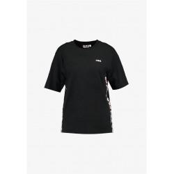 fila talita tee ss - noir, textile, textile