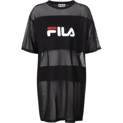 fila emily tee dress - noir, textile, textile