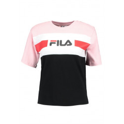 fila shannon tee - rose, textile, textile
