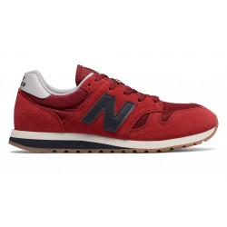 new balance u520 - rouge, cuir/suede, cuir/textile