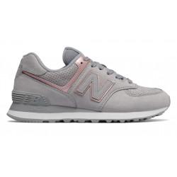new balance wl574 nbn - gris, cuir/suede, cuir/textile