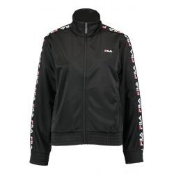 fila strap track jacket - noir, textile, textile