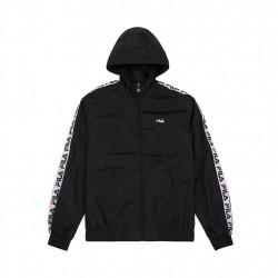 fila tacey tape wind jacket - noir, textile, textile