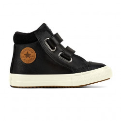 converse 2v pc boot hi - noir, cuir, textile