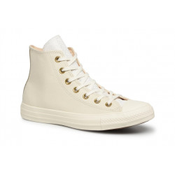 converse chuck taylor leather - blanc, cuir, textile