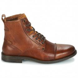 levi's 225115 - marron, cuir, cuir/textile