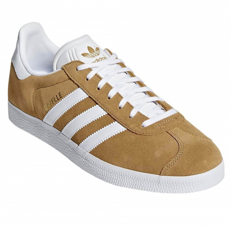 ADIDAS-CHAUSSURE-GAZELLE-CAMEL-CHAUSSURES-ADULTES-NEUF