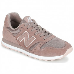 new balance wl373 pps latte - rose, cuir/suede, cuir/textile