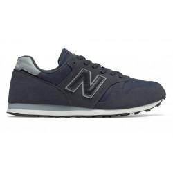 new balance ml373nvb - bleu, cuir/synthetic, textile