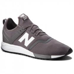 new balance mrl247 - gris, cuir/suede, cuir/textile