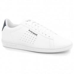 le coq sportif courtset - blanc, cuir/textile, cuir/textile