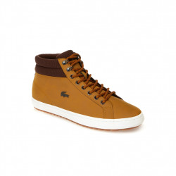 lacoste straightset - tan, cuir