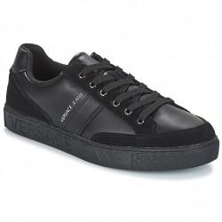 versace - noir, cuir, cuir/textile