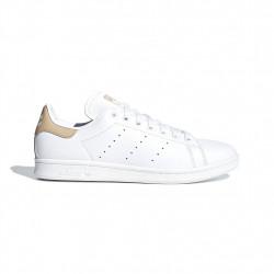 adidas chaussure stan smith - blanc-beige, cuir, cuir/textile