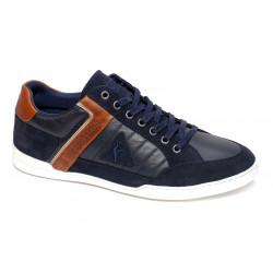 le coq sportif alsace - bleu, cuir/textile, cuir/textile
