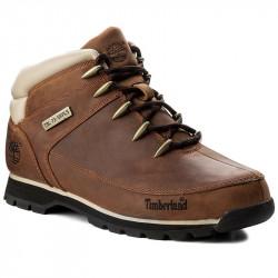 timberland euro sprint - marron, cuir, cuir