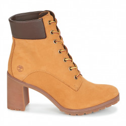 timberland allington 6in lace up - miel, cuir, cuir