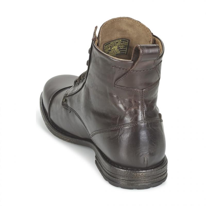 Cuir Shoes Levis fonce 225115 225115 Tissu 28 fo Levi's 825 Marron 40 Marron 8REqqdB