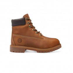 timberland authentics 6-inch boot - marron, cuir, cuir