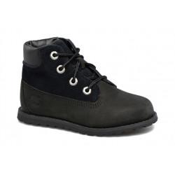 timberland pokey pine 6in boot - noir, cuir, cuir