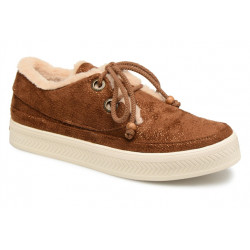 armistice sonar indian w - cognac-marron, cuir, velour