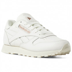 reebok x face stockholm classic leather - blanc-rose, cuir, cuir/textile
