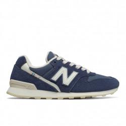 new balance wr996 - bleu, cuir/suede, cuir/textile