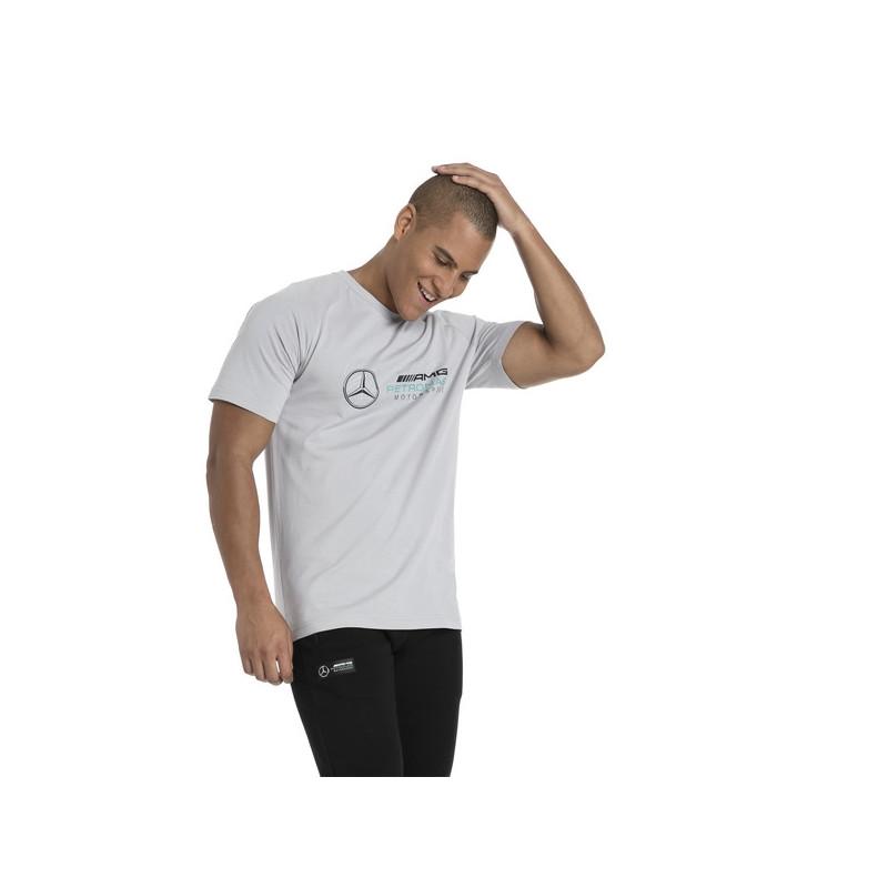 Puma L Coton Vetements Mercedes shirt T 03 Gris Amg Neuf 577409 8wr8RaqB