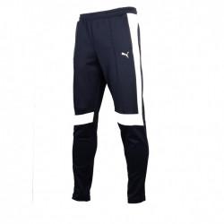 puma - pantalon jogging bmw motorsport - blanc-bleu, coton/poly/elas, coton/poly/elas