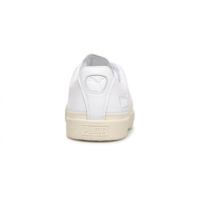PUMA STITCHED white 368387-01 CUIR CUIR TEXTILE TEXTILE TEXTILE 42 - white shoes ADULTES 0bc678