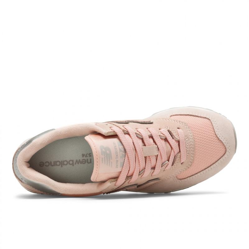 Pelle Scarpe Pink Wl574 Pelle 702341 Ops adulti Balance scamosciata per New 13 39 0wqEv05