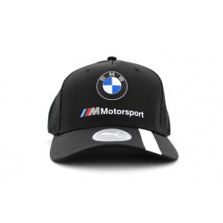 puma casquette bmw motorsport - noir, textile, textile
