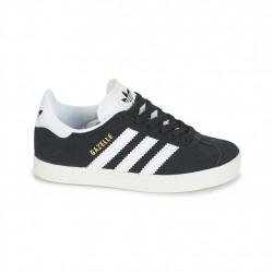 adidas chaussure gazelle - noir, cuir/suede, textile