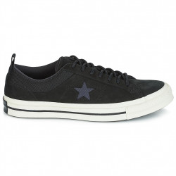 converse one star - black, syntetic/textile, textile