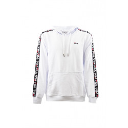 fila david tape hoodie - blanc, textile, textile