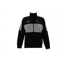 puma veste de survêtement amg - gris, coton/poly/elas, coton/poly/elas
