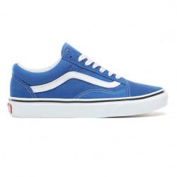 vans chaussures old skool - bleu-electrique, toile, toile