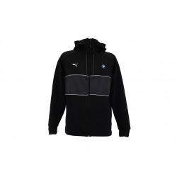 puma - sweat zippé capuche bmw life 577778 01 noir - noir, textile, textile