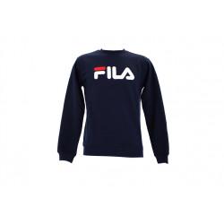 fila classic pure crew sweet - bleu, textile, textile
