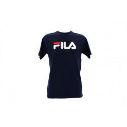 fila classic pure tee ss - bleu, textile, textile