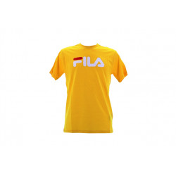 fila classic pure tee ss - jaune, textile, textile
