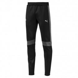 bmw pantalon de survêtement bmw - noir, coton/poly/elas, coton/poly/elas