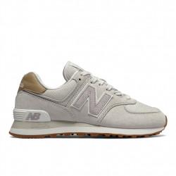 new balance wl574 lcc - beige, cuir/suede, cuir/textile